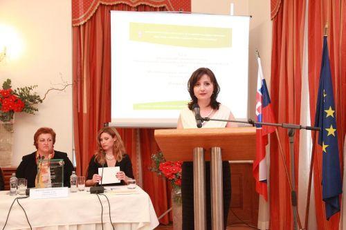 Príhovor riaditeľky odboru rodovej rovnosti a rovnosti príležitostí Viery Hanulákovej