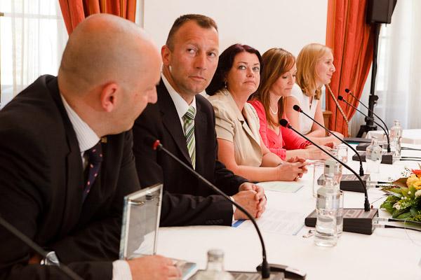 panelová diskusia ocenených zamestnávateľov